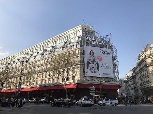 旅の予算と『ギャラリー・ラファイエット・パリ』天井の素敵なステンドグラス♪_f0023333_00020835.jpg