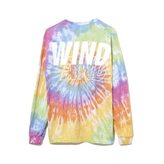 WIND AND SEA - LONG SLEEVE CUT-SEWN TIEDYE 6.1(Sat) Release._f0020773_214316.jpg