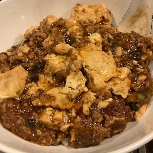 麻婆豆腐、俺は食材依存症なのかと思ったりもする。_a0334793_02482999.jpg