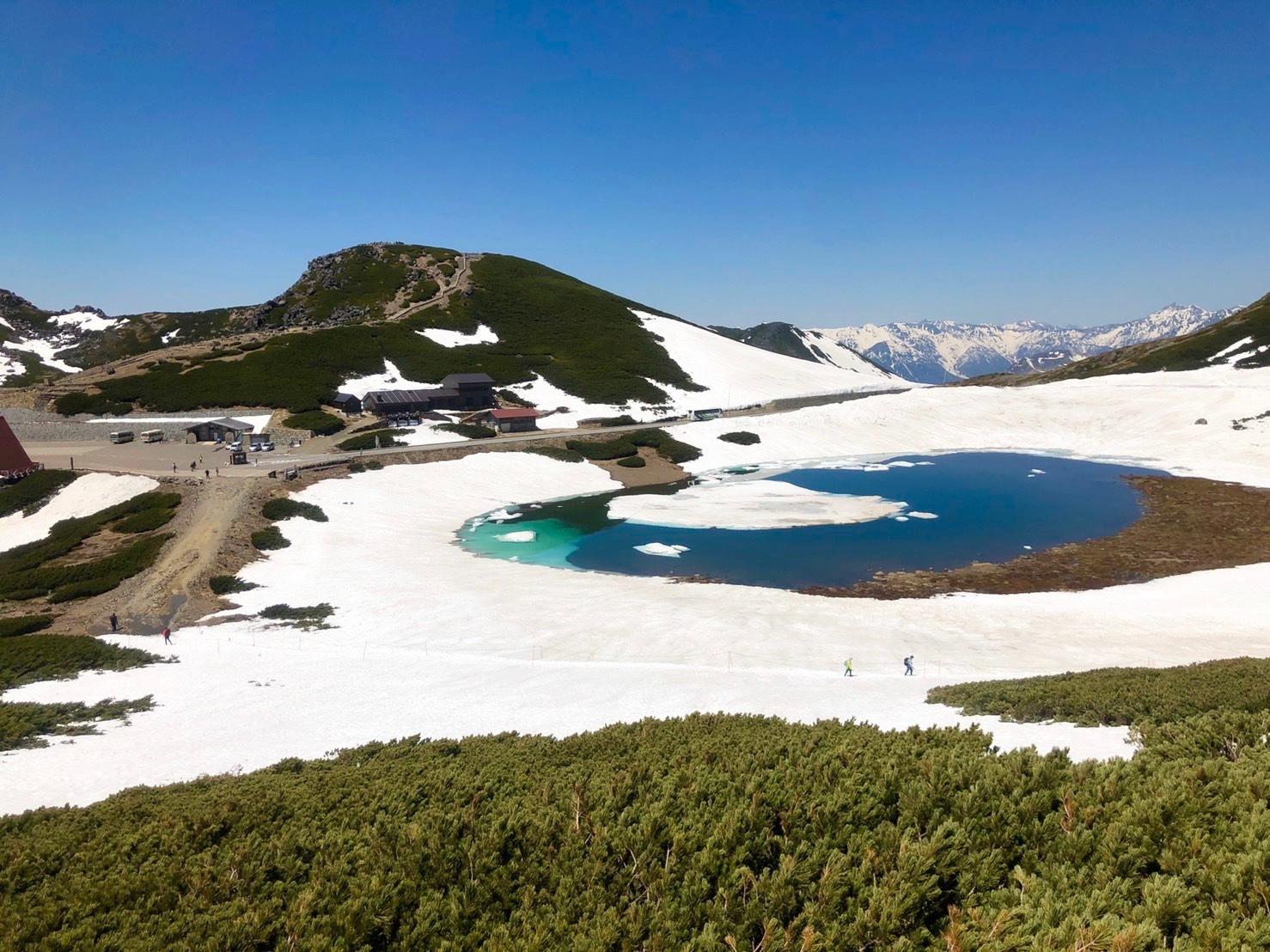 大雪渓で滑ってきました♪_e0248949_02421723.jpg
