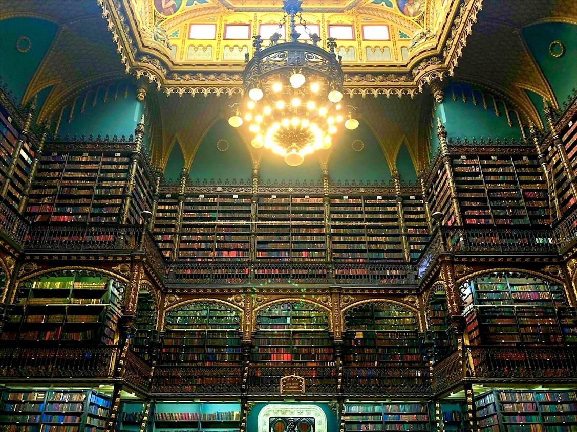 """中南米の旅/48  ハリーポッターの世界 \""""幻想図書館""""@リオ_a0092659_15430303.jpg"""