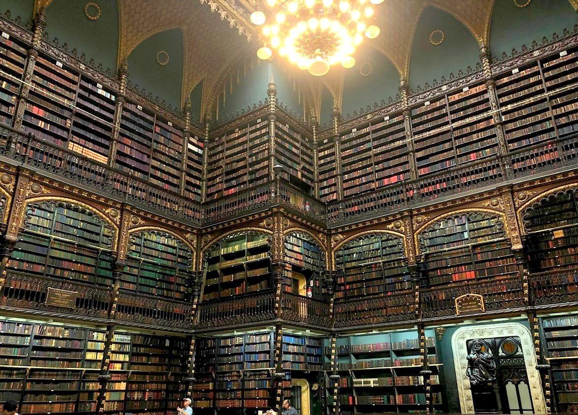"""中南米の旅/48  ハリーポッターの世界 \""""幻想図書館""""@リオ_a0092659_16120168.jpg"""
