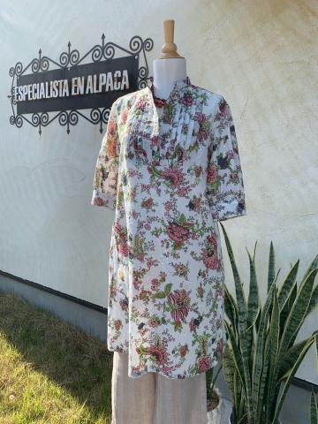 綺麗なコットンワンピースブラウス入荷・ペルーayacucho手刺繍クッションカバーの新作入荷_d0187468_14595278.jpg