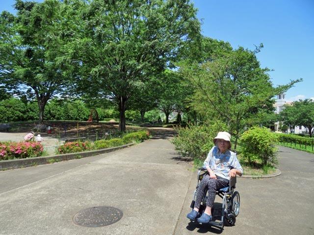 長池公園へ_e0133780_12200495.jpg