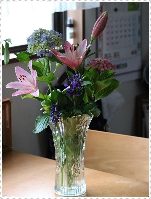 家ごはんに、庭のお花に、手作りスウィーツにと、今日はあれこれ盛りだくさん(*⌒∇⌒*)テヘ♪_b0175688_20313297.jpg