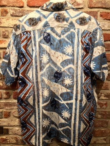 "1960s "" STAN HICKS \"" 100% COTTON VINTAGE - HAWAIIAN SHIRTS - ココナッツ釦 ._d0172088_18400145.jpg"