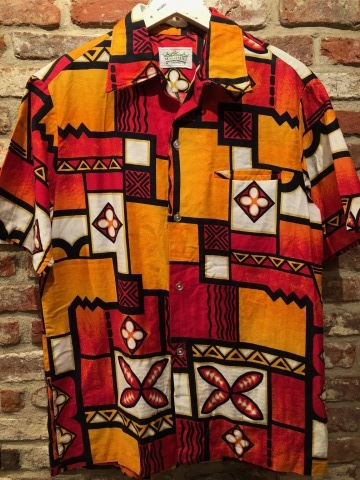 "1960s "" STAN HICKS \"" 100% COTTON VINTAGE - HAWAIIAN SHIRTS - ココナッツ釦 ._d0172088_19020533.jpg"
