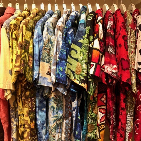 "1960s "" STAN HICKS \"" 100% COTTON VINTAGE - HAWAIIAN SHIRTS - ココナッツ釦 ._d0172088_21050973.jpg"