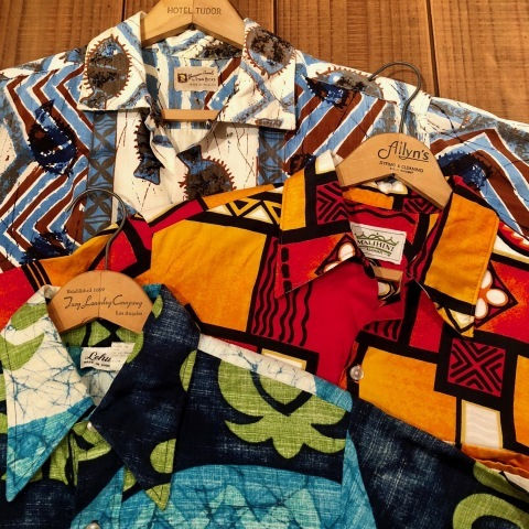 "1960s "" STAN HICKS \"" 100% COTTON VINTAGE - HAWAIIAN SHIRTS - ココナッツ釦 ._d0172088_21053342.jpg"