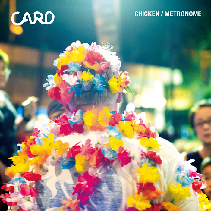 CARD / CHICKEN /  METRONOME feat. ninoheron / 7inch+DL(FLAKES-220)2019.7.17 Release_a0087389_11434273.jpg