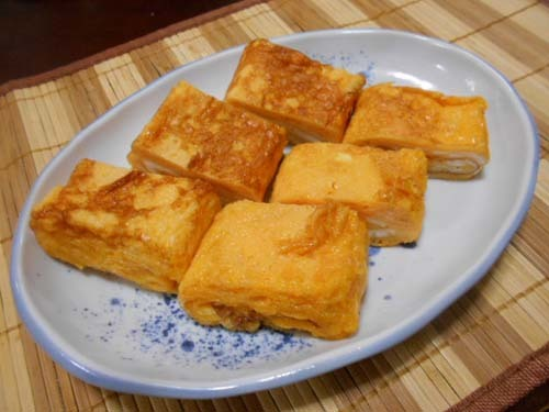 牛肉とごぼうのしぐれ煮&卵焼き_f0019498_20222294.jpg