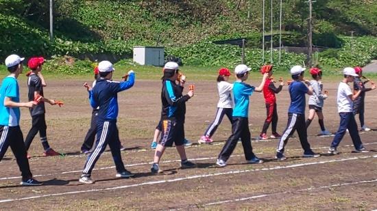 運動会練習(よさこい)_d0162600_14001203.jpg