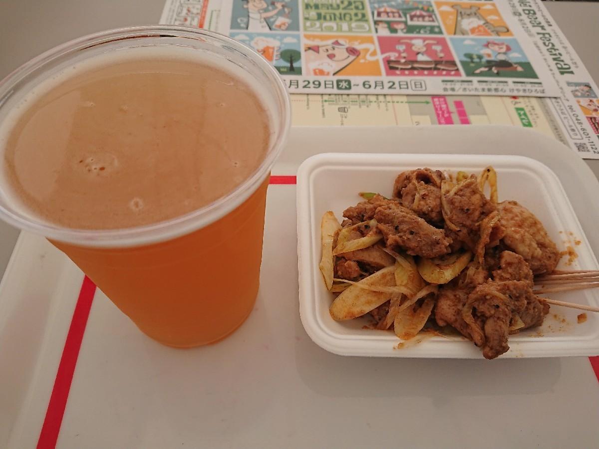 5/31  けやき広場ビール祭、アルカトラス、カルビ丼_b0042308_09311396.jpg