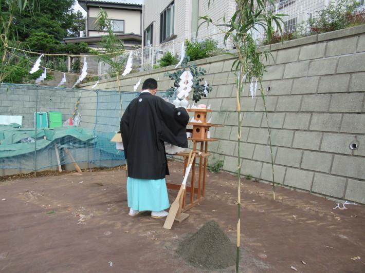 川崎市宮前区の家☆地鎮祭が執り行われました!_c0152341_07581633.jpg