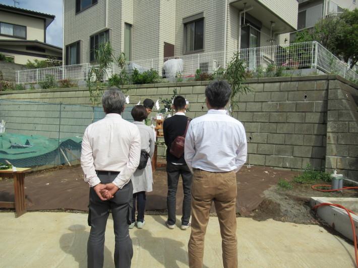 川崎市宮前区の家☆地鎮祭が執り行われました!_c0152341_08012483.jpg