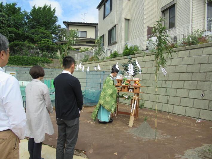 川崎市宮前区の家☆地鎮祭が執り行われました!_c0152341_08015757.jpg