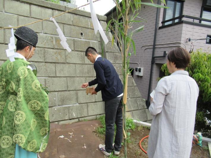 川崎市宮前区の家☆地鎮祭が執り行われました!_c0152341_08022298.jpg