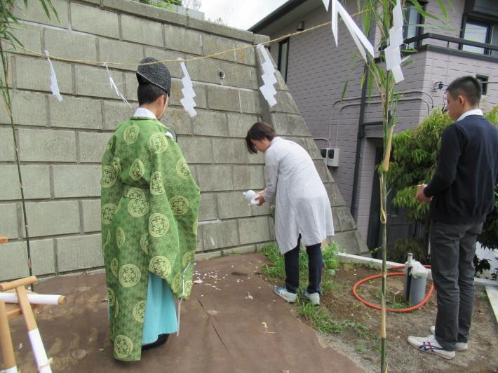 川崎市宮前区の家☆地鎮祭が執り行われました!_c0152341_08024975.jpg