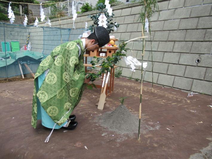 川崎市宮前区の家☆地鎮祭が執り行われました!_c0152341_08033285.jpg