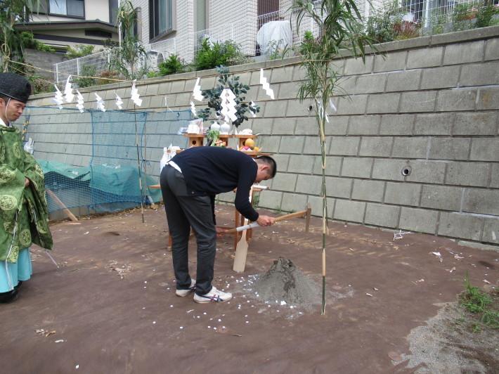 川崎市宮前区の家☆地鎮祭が執り行われました!_c0152341_08041987.jpg