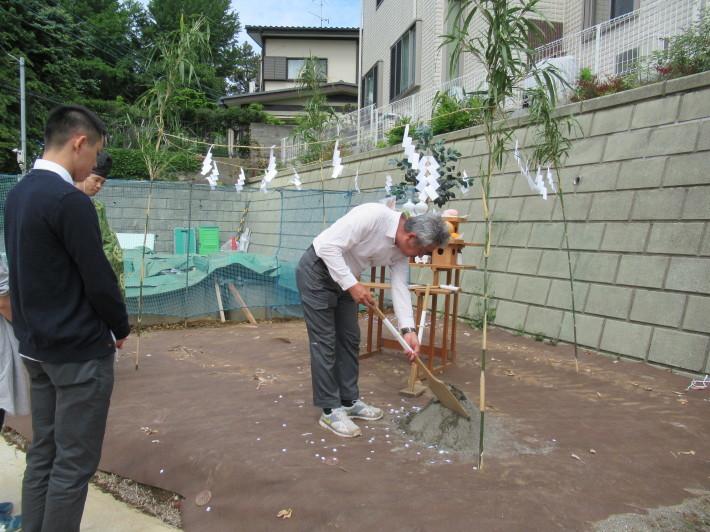 川崎市宮前区の家☆地鎮祭が執り行われました!_c0152341_08045228.jpg