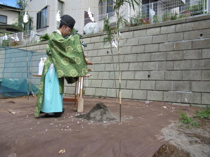 川崎市宮前区の家☆地鎮祭が執り行われました!_c0152341_08052670.jpg