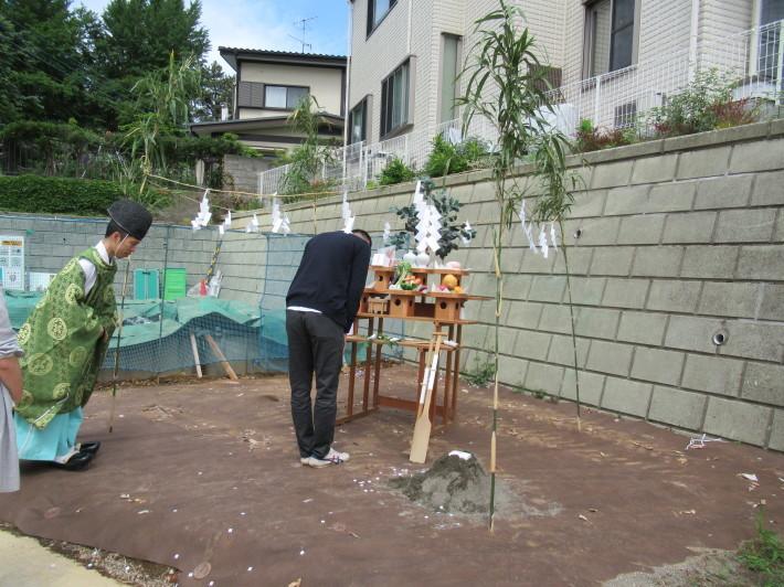 川崎市宮前区の家☆地鎮祭が執り行われました!_c0152341_08063371.jpg