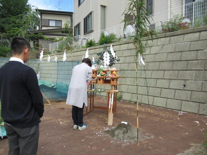 川崎市宮前区の家☆地鎮祭が執り行われました!_c0152341_08065585.jpg