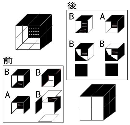 算数オリンピック<100>小立方体で立方体を作る_b0368745_09370444.jpg