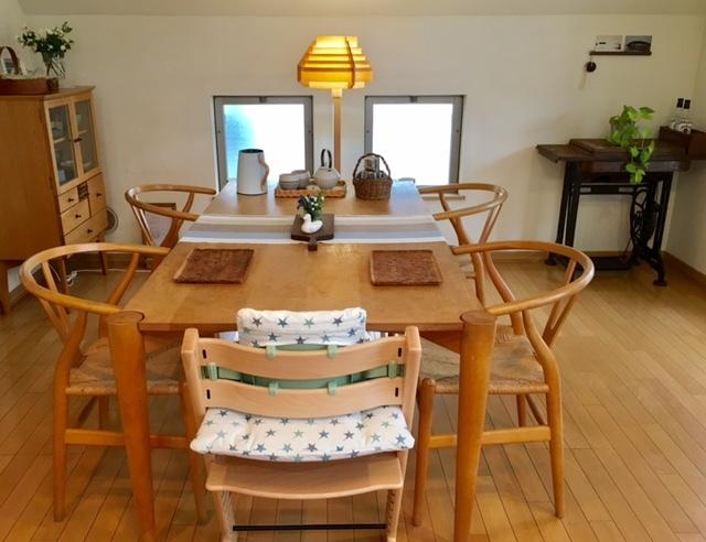 Dining  room  ベビーチェアのある風景_a0165160_19142856.jpg