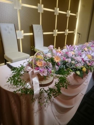 結婚式を記念日に(6/1)_c0200361_13023822.jpg
