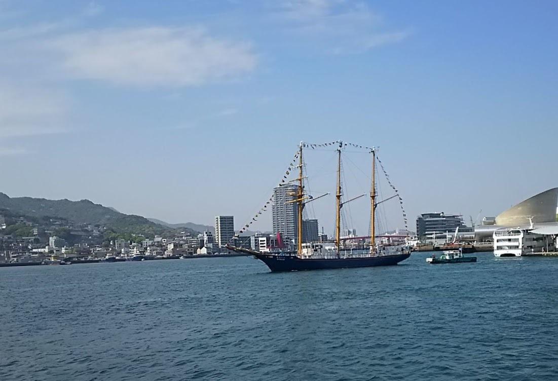 九州旅行7日目 長崎 帆船祭り_a0052080_11042555.jpg