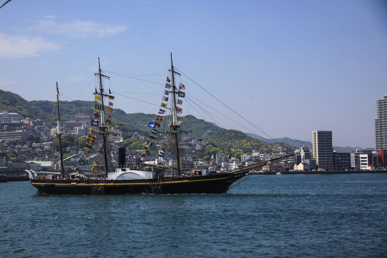 九州旅行7日目 長崎 帆船祭り_a0052080_11043321.jpg
