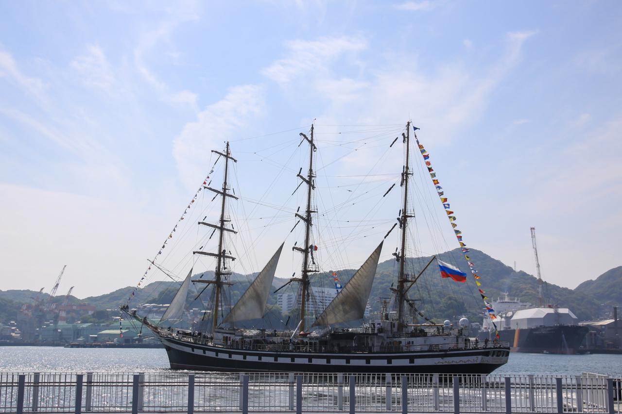 九州旅行7日目 長崎 帆船祭り_a0052080_11051928.jpg