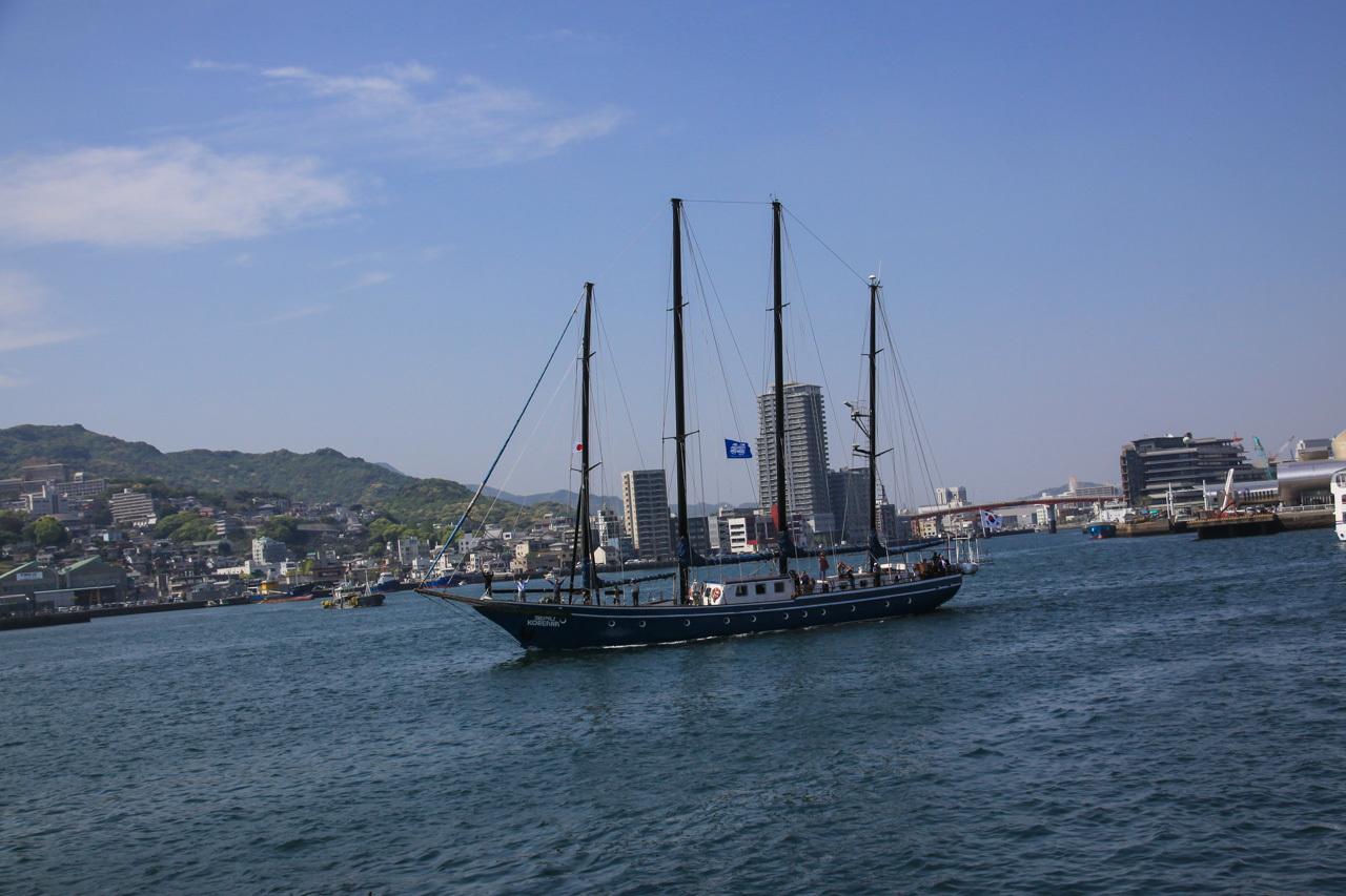 九州旅行7日目 長崎 帆船祭り_a0052080_11135903.jpg