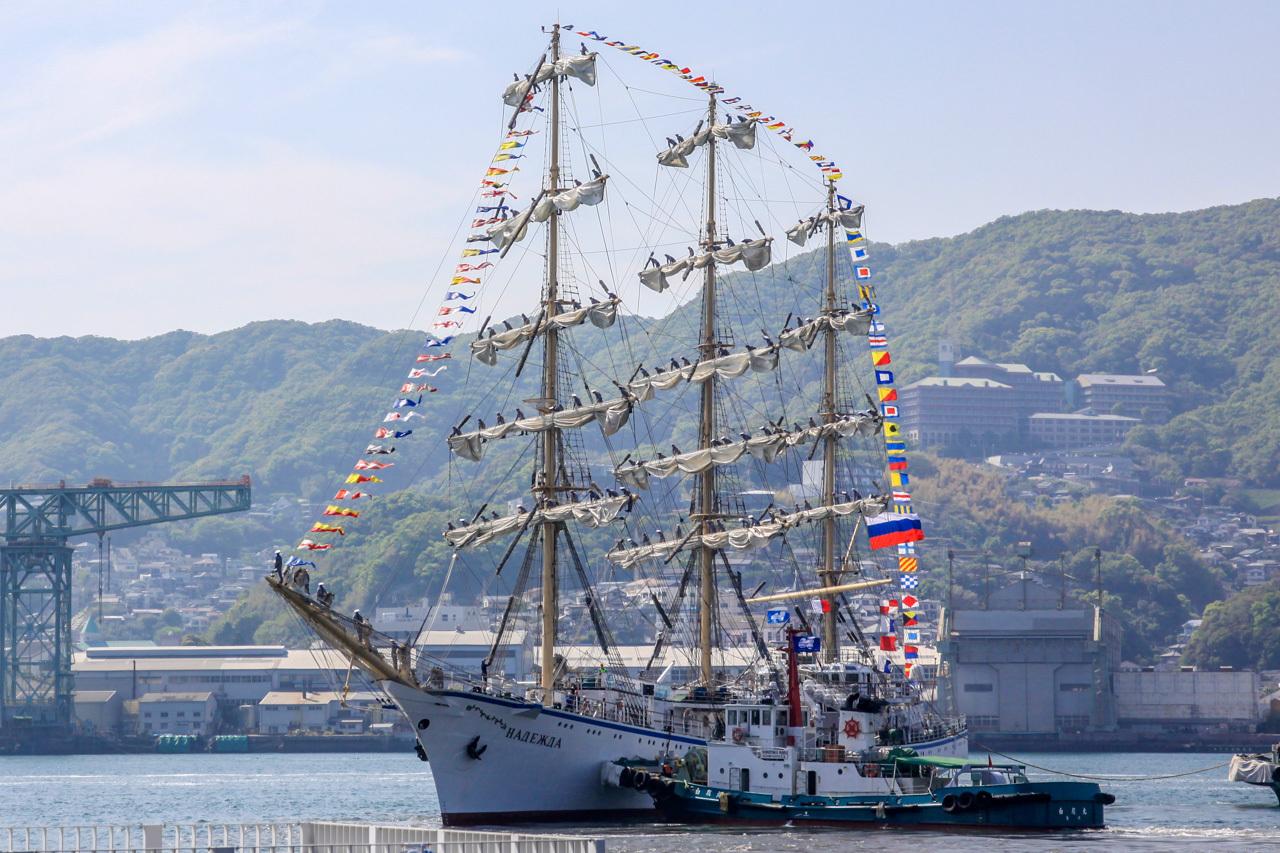 九州旅行7日目 長崎 帆船祭り_a0052080_12115354.jpg