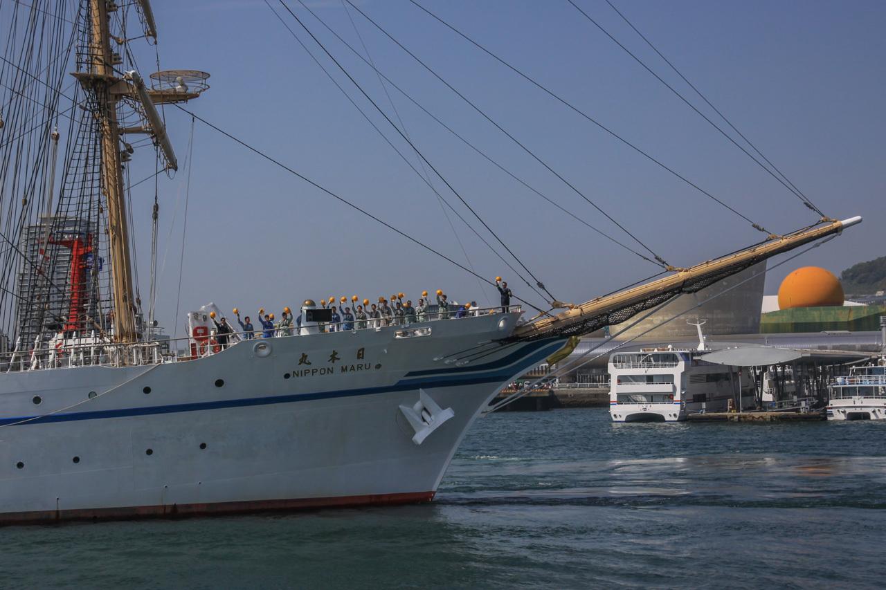九州旅行7日目 長崎 帆船祭り_a0052080_12171109.jpg