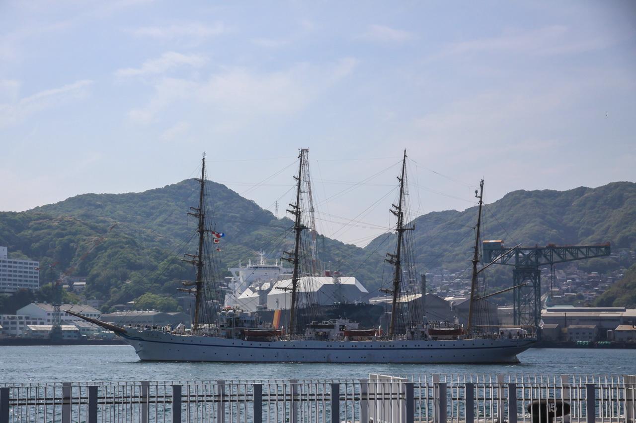 九州旅行7日目 長崎 帆船祭り_a0052080_13093836.jpg