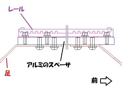 VMGレヴォーグ レカロ用シートレールの構想(その2)_e0146484_09343109.jpg