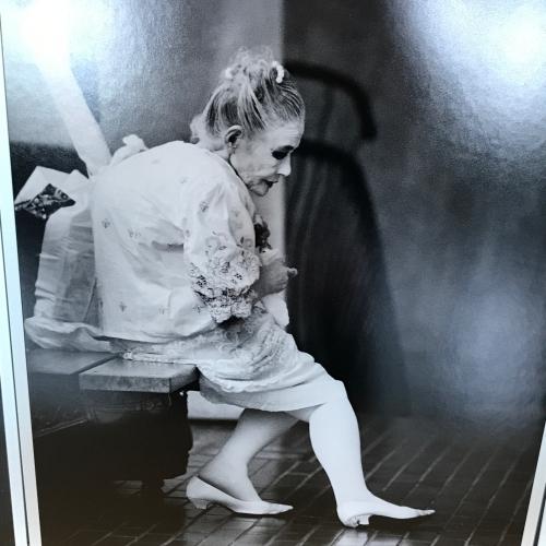 五大路子ひとり芝居『横浜ローザ』〜赤い靴の娼婦の伝説を観劇_f0061797_17363694.jpg