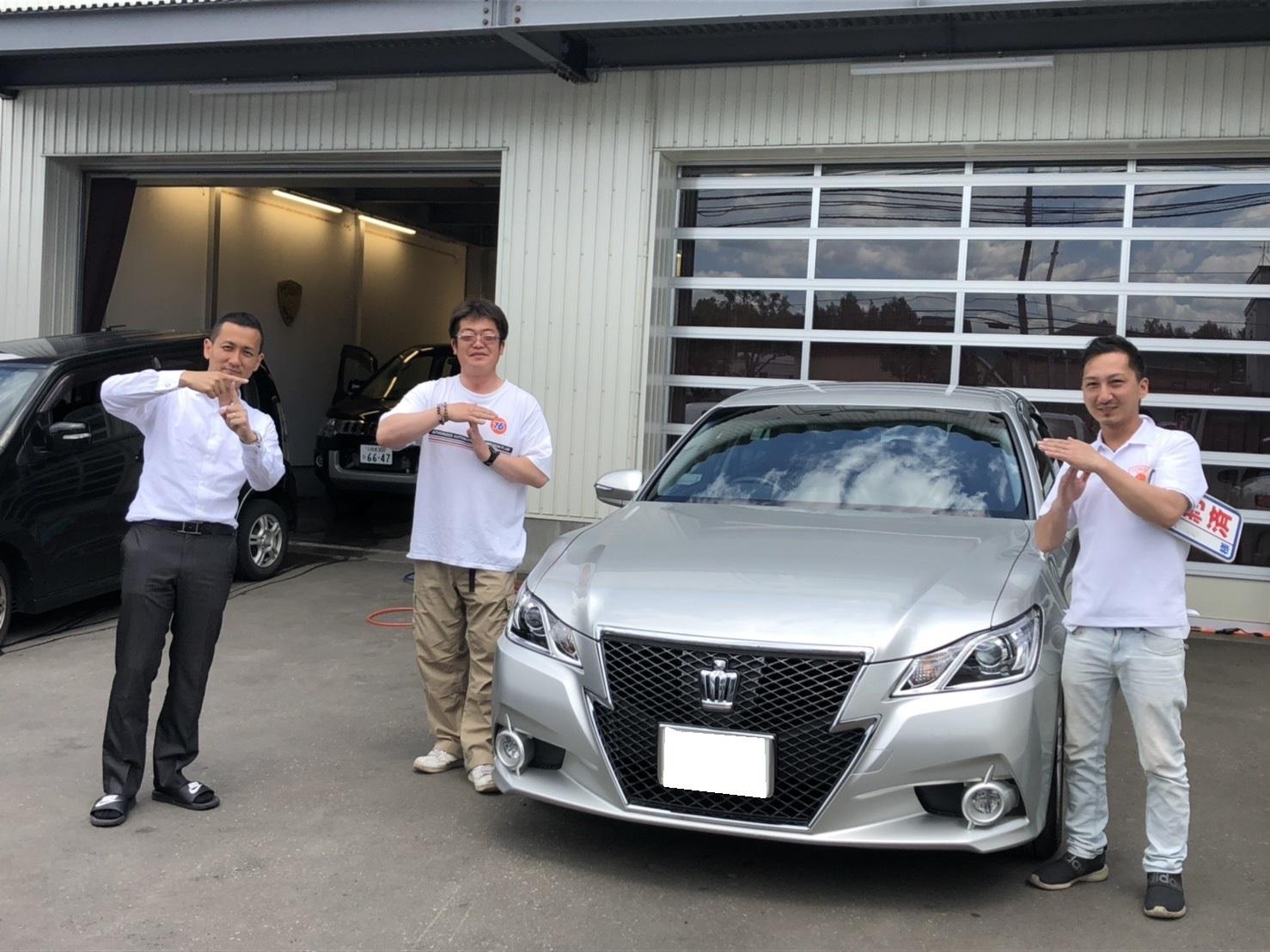 6月2日(日)♛クラウンK様&LX450DI様納車♛ランクル レクサス ベンツ⊛TOMMY⊛_b0127002_17215888.jpg