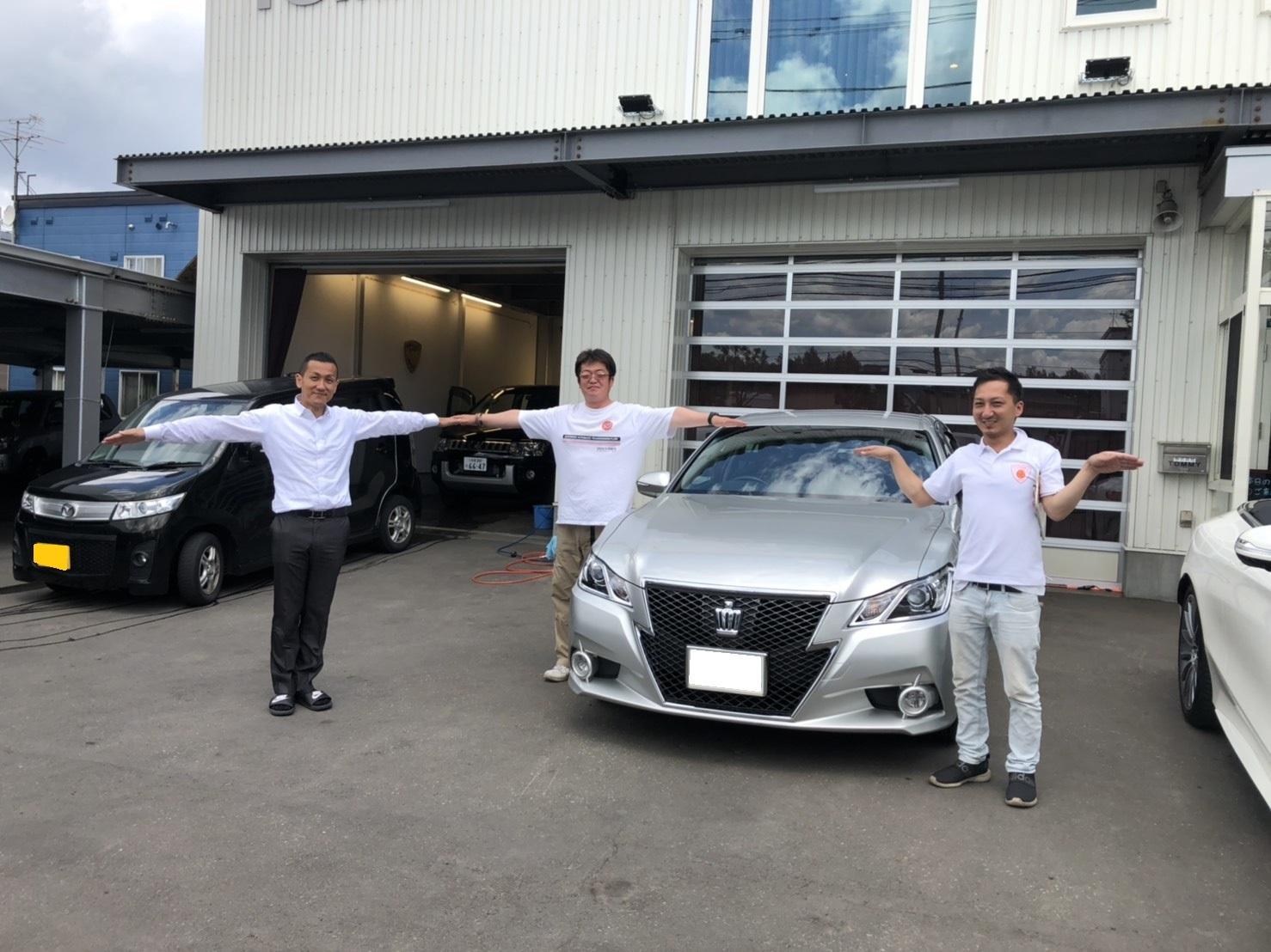 6月2日(日)♛クラウンK様&LX450DI様納車♛ランクル レクサス ベンツ⊛TOMMY⊛_b0127002_17363092.jpg
