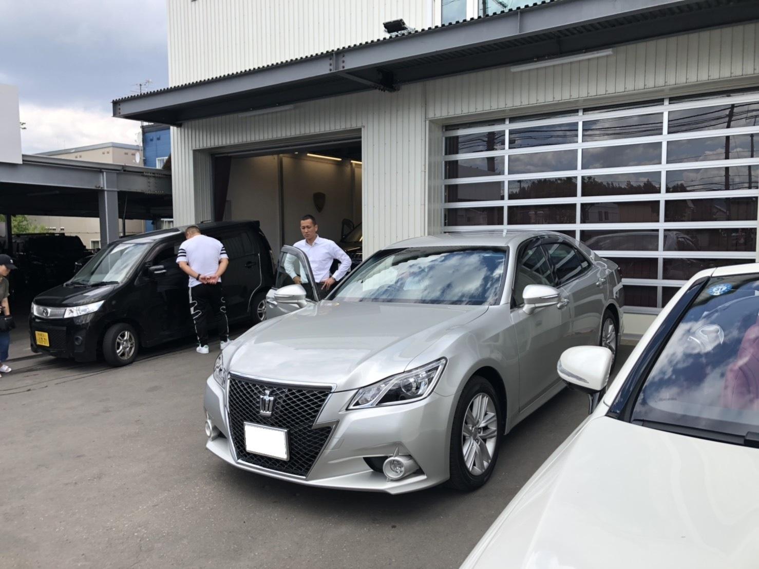 6月2日(日)♛クラウンK様&LX450DI様納車♛ランクル レクサス ベンツ⊛TOMMY⊛_b0127002_17393386.jpg