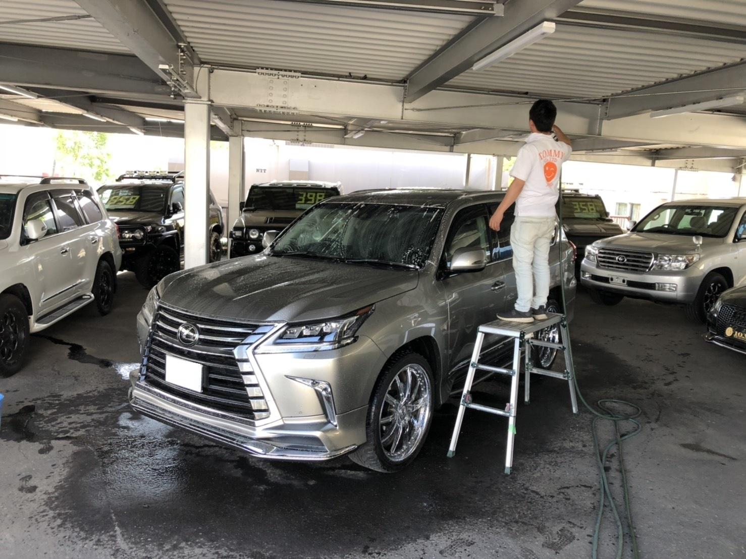 6月2日(日)♛クラウンK様&LX450DI様納車♛ランクル レクサス ベンツ⊛TOMMY⊛_b0127002_18170686.jpg