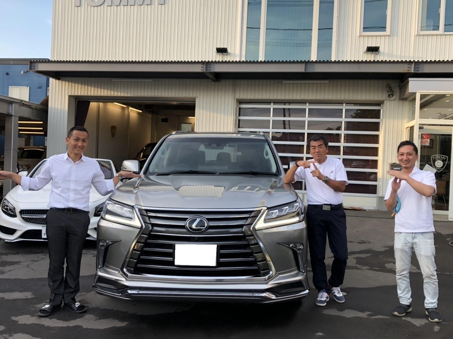 6月2日(日)♛クラウンK様&LX450DI様納車♛ランクル レクサス ベンツ⊛TOMMY⊛_b0127002_18203489.jpg