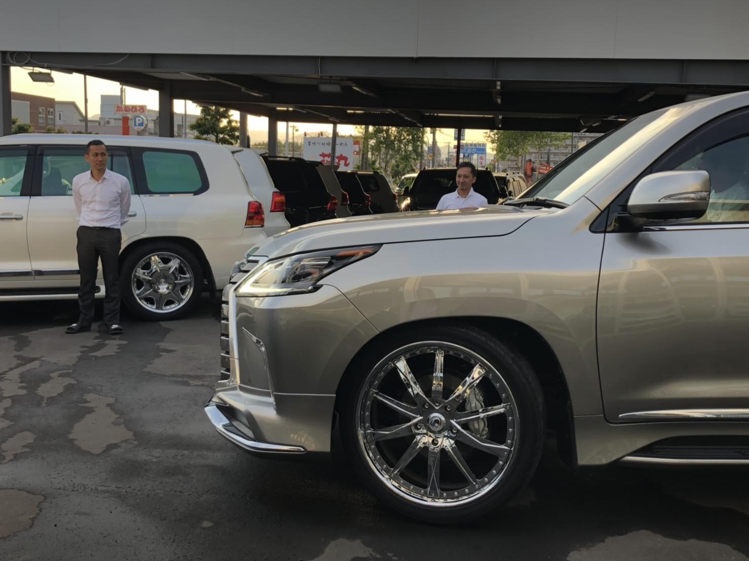 6月2日(日)♛クラウンK様&LX450DI様納車♛ランクル レクサス ベンツ⊛TOMMY⊛_b0127002_18225377.jpg