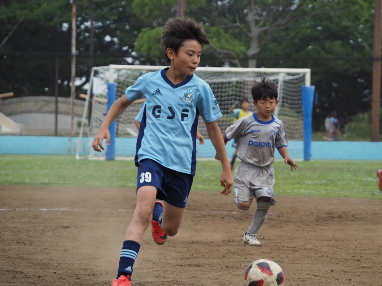 5年生 練習試合 対FCパルピターレ_a0109316_13321291.jpg