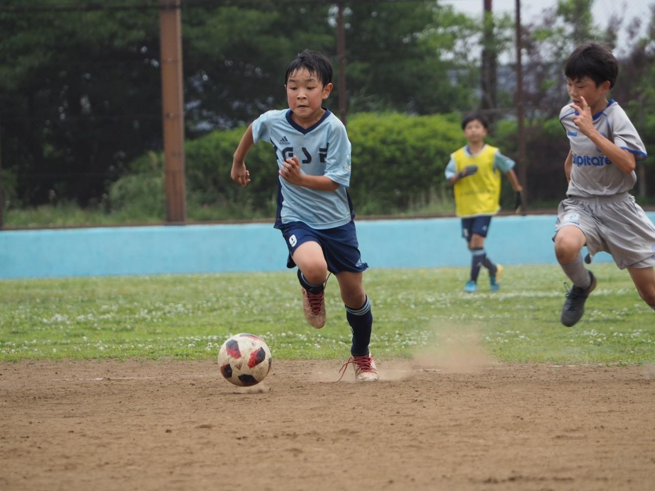 5年生 練習試合 対FCパルピターレ_a0109316_13322896.jpg