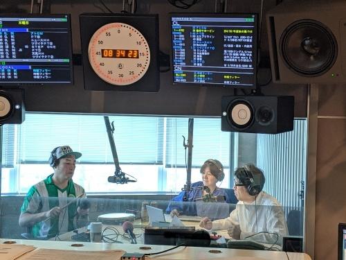 【番組出演レポート】別所哲也さん@besshotetsuya 朝のJ-WAVE看板番組 TOKYO MORNING RADIO @jtmr813 #ohayomorning #jwave_b0032617_18141080.jpg