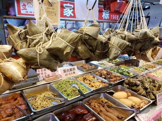 龍山寺で朝ごはん 南門市場で粽を購入_a0114319_16363782.jpg